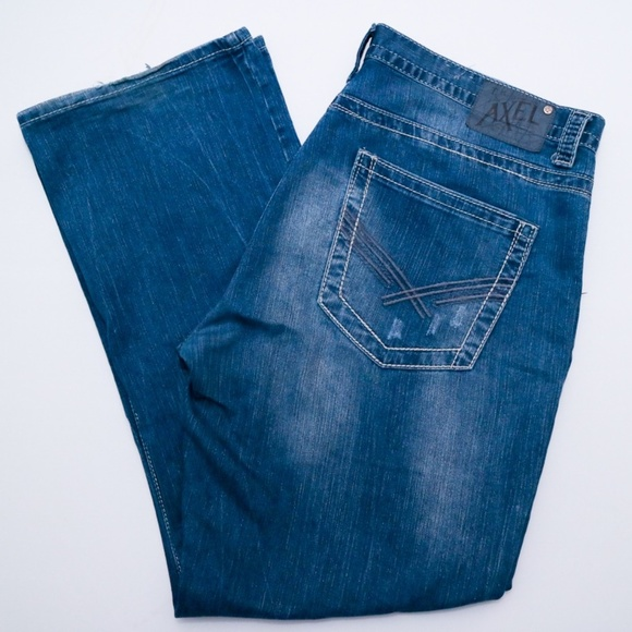 5050d1b7878 Axel Other - Axel Mens Wolcott Vintage Bootcut Jeans
